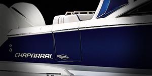 Macro shot of Chaparral Logo